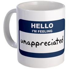 Feeling Unappreciated Quotes Appreciation http://themazemapper.wordpress.com/2012/06/19/invisible-but-essential/